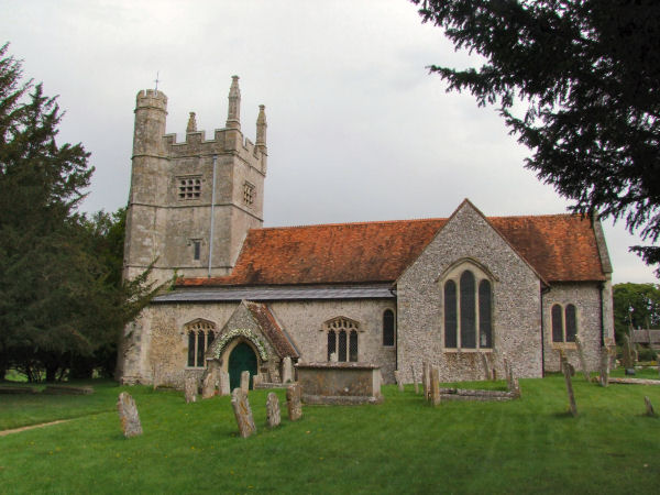 All Saints, Barton Stacey