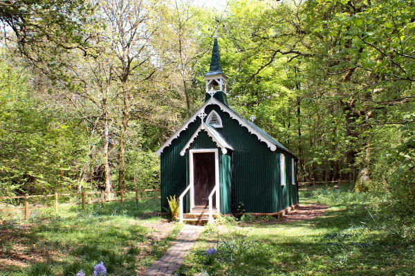 Church In The Woods - The Romany Church, Bramdean Common