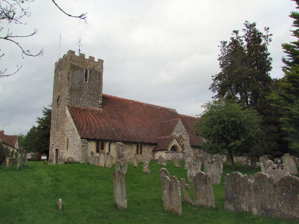 St Mary's Church, Buriton