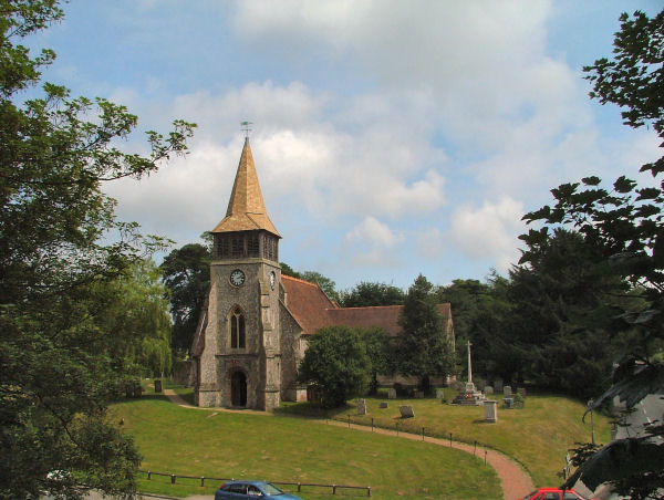 St Nicholas's Church, Wickham